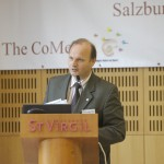 Josef Schlömicher-Thier, Secretary-General, opening the CoMeT 2006 in Salzburg