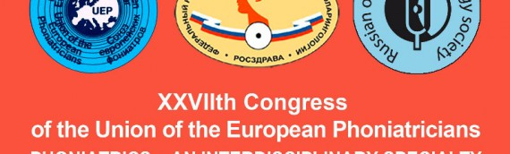 XXVIIth Congerss of the Union of European Phoniatricians